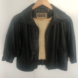 Andrew March leather jacket